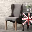 Zuo Era Marina Arm Chair; Charcoal Gray