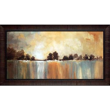 North American Art Arrival by Cat Tesla Framed Painting Print