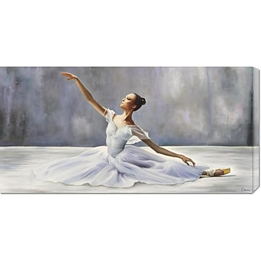 Global Gallery 'Ballerina' by Pierre Benson Painting Print on Wrapped Canvas