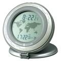 Howard Miller World Time 3'' Travel Alarm Clock