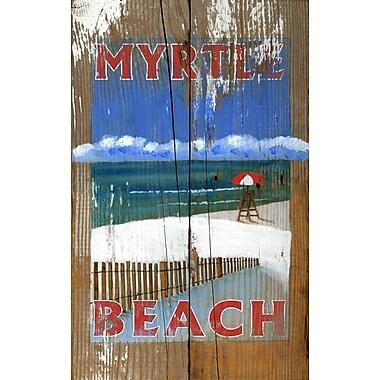 Vintage Signs Lifeguard Vintage Advertisement Plaque