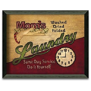 Timeless Frames Mom's Laundry by Linda Spivey Framed Graphic Art