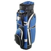 Hunter Golf Storm Cart Bag; Black/Royal/White