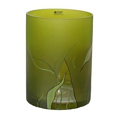 Womar Glass Lucious Lime Vase; 8'' H x 6'' W x 6'' D