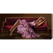 Global Gallery 'Jasmine' by John Silver Painting Print on Canvas