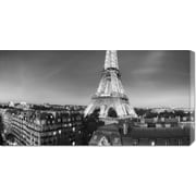 'The Eiffel Tower and Surrounding Buildings' by Paul Hardy Photographic Print on Wrapped Canvas