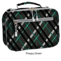 J World Cody Lunch Bag with Shoulder Strap; Preppy Green