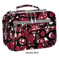 J World Cody Lunch Bag with Shoulder Strap; Marble Red