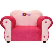 Fantasy Furniture Comfy Kid's Club Chair; Pink/Purple / Love