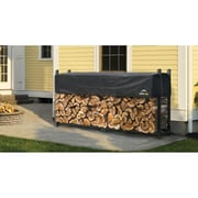 ShelterLogic Ultra Duty Firewood Rack with Cover; 46.8'' H x 93.8'' W x 14.3'' D