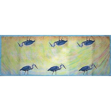 Betsy Drake Interiors Heron Table Runner; 54'' W x 13'' L