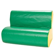Foamnasium Cloud Kids Sofa; Green