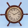 Handcrafted Model Ships Ship 15'' Wall Clock
