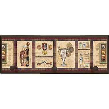Illumalite Designs Old World Golf Painting Print on Plaque