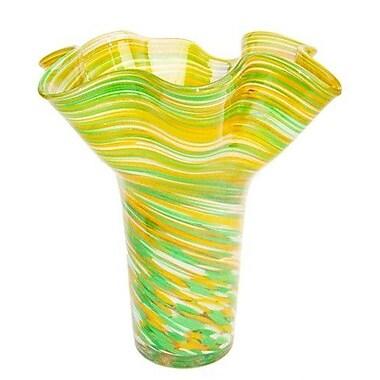 White Walls Hand Blown Vase