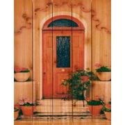 Gizaun Art Tile Door Photographic Print; 28 x 36