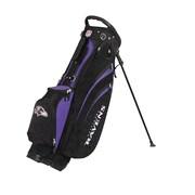 Wilson NFL Golf Cart Carry Bag; Ravens