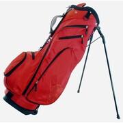 Hunter Golf Fury Stand Bag; Red