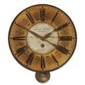 Uttermost 20'' Louis Leniel Weathered Wall Clock