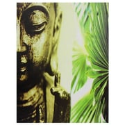 Oriental Furniture Golden Buddha Photographic Print on Wrapped Canvas
