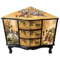 Oriental Furniture Enchanted Ladies Corner Cabinet