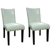 NOYA USA Classic Parsons Chair (Set of 2); Creamy White