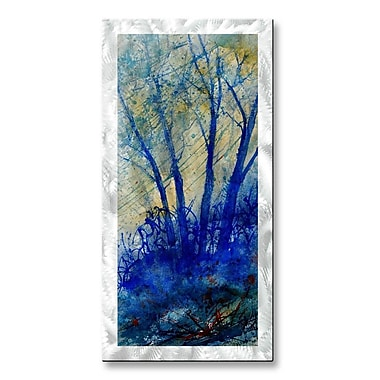 All My Walls 'The Blues' by Pol Ledent Painting Print Plaque