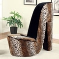 Hokku Designs Stiletto Heel Side Chair; Large