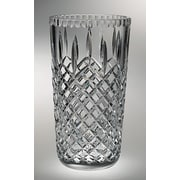 Majestic Crystal Plaza Vase; 10'' H x 6.13'' W x 6.13'' D