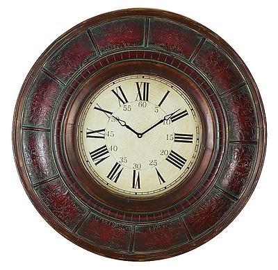 Aspire Oversized 36'' Brick Wall Clock WYF078276456391