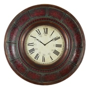 Aspire Oversized 36'' Brick Wall Clock