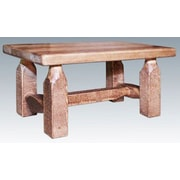 Montana Woodworks  Homestead Accent Stool; Lacquered