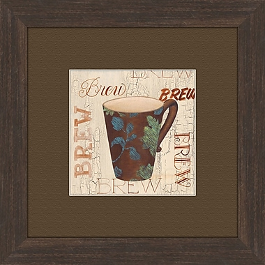 PTM Images Morning Coffee B Framed Graphic Art