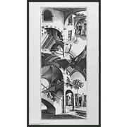Frames By Mail 'High and Low' by M.C. Escher Framed Painting Print