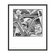 Frames By Mail 'Relativity' by M.C. Escher Framed Painting Print