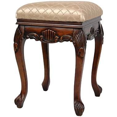 Oriental Furniture Queen Victoria Parlor Stool