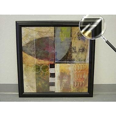 Printfinders Urban Vision II by Craig Alan Framed Painting Print