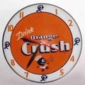 American Retro Double Bubble 14.5'' Crush Wall Clock