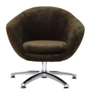 Fox Hill Trading Overman Five Prong Base Comet Chair; Brown