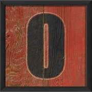 The Artwork Factory Number Zero Framed Textual Art