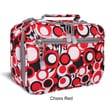 J World Cody Lunch Bag with Shoulder Strap; Chess Red