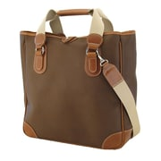 Mulholland Brothers Endurance Small Tote Bag; Hazel / Bridle Tan