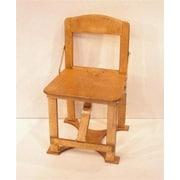 Spiderlegs Folding Side Chair; Golden Oak
