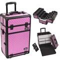 Just Case Trolley Makeup Case; Purple