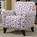 Handy Living Sasha Arm Chair; Purple