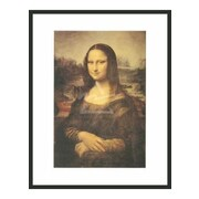 Frames By Mail 'Mona Lisa' by Leonardo Da Vinci Framed Painting Print
