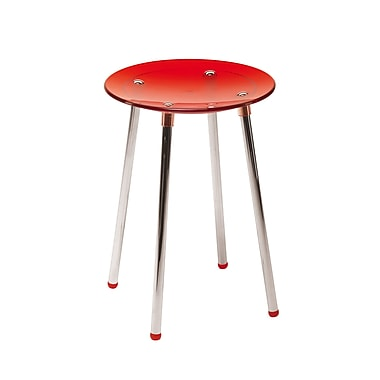 WS Bath Collections Complements Noni Bathroom Stool; Red