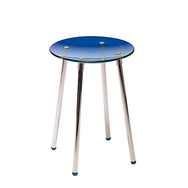 WS Bath Collections Complements Noni Bathroom Stool; Blue