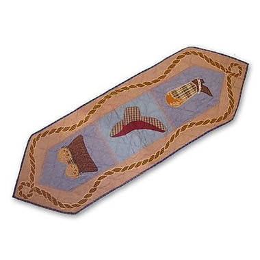 Patch Magic Cowboy Table Runner; 54'' W x 16'' L