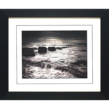 North American Art Light on the Ocean by Martin Henson Framed Photographic Print